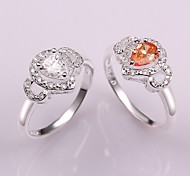 Plated Silver Fashion Women's Ring (More Colors)