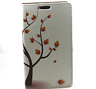 For Samsung Galaxy A3 Autumn Compatible Graphic PU Leather Full Body Cases/Cases with Stand