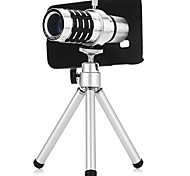 12x Optical Magnification Long Focal Telescope Mobile Telephoto Lens with Case and Tripod Sets for Samsung Galaxy S6