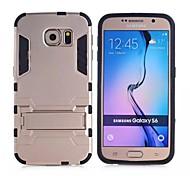 pc tpu in Stent zwei-in-one rückseitige Abdeckung des schützende Hülle für Samsung-Galaxie s6 (farblich sortiert)