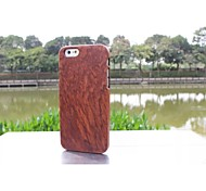 New Luxury Handmade Hard Modish Enduring Pure Wood Natural Wooden Bamboo Style Case Cover for Iphone 6
