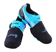 WEST BIKING® Unisex Waterproof Anti-cold Thermal SBR Free Size Black Half yards Shoe Covers
