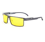 Polarized Men's Aluminum Alloy Rectangle Lightweight Sunglasses