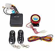 Motorcycle Scooter Anti-theft Security Alarm System Remote Control Engine Start