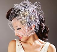 Damen Kopfschmuck Hochzeit/Besondere Anlässe Kopfschmuck/Blumen Netz Hochzeit/Besondere Anlässe 1 Stück