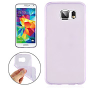 Angibabe 0.3mm Super Slim TPU Clear Jelly Case For Galaxy Samsung Galaxy S6 Edge