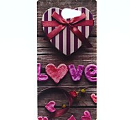 Love Gift Box Pattern Soft TPU Case for Sony Xperia M2