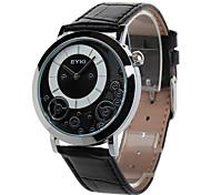 eyki eet8816l Herrenmode casual pu Lederband Quarz-wasserdichte Armbanduhr (zwei Farben-Wahl)