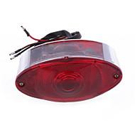 Moto Vélo queue frein arrière lampe de lumière DC 12V chats rouges oeil