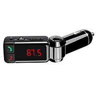 BC06 Bluetooth hands-free dual USB car charger U disk AUX FM Transmitter MP3 Player