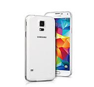 contraportada del silicón transparente para i9600 de Samsung s5