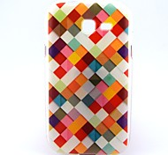 For Samsung Galaxy Case Pattern Case Back Cover Case Geometric Pattern TPU Samsung Trend Lite