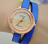 Ladies European Style Fashion New High-quality Quicksand Wrapped Watches