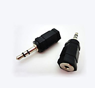 3.5mm Male to 2.5mm Female Stereo Audio Converter Adapter