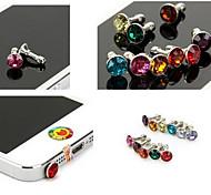 universellen 3,5mm staubdicht für iphone (zufällige Farben)