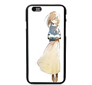 Beautiful Girl Design PC Hard Case for iPhone I5