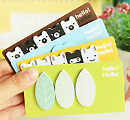 Lovely Forest Story Post-It Stickers(Random Color)