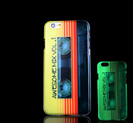 Magnetic tape Pattern Glow in the Dark Case for iPhone 6 Cover