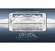 cristal nillkin filme protetor de tela anti-impressão digital clara para galáxia e5 (e500)