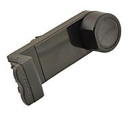 x5 universal de ar do carro pendurado desabafar titular de montagem para telefone celular / navegador - preto