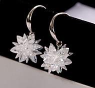 Korean Fashion Sweet Temperament Crystal EarRings