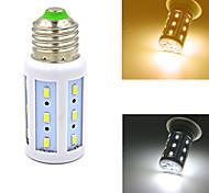 Bombillas Mazorca Decorativa E26/E27 W 24 SMD 5730 420 LM Blanco Cálido/Blanco Natural AC 100-240 V 1 pieza