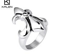 Kalen Men's Jewelry Popular Stainless Steel Biker Mens Unique Rings