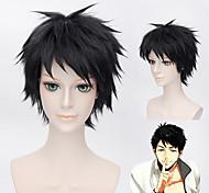 Free!SosukeYamazaki black Short Synthetic Fiber Hair cosplay wig