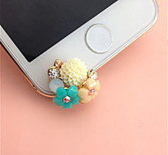 New Carpet of Flowers  3.5mm Anti-dust Plug for iphone