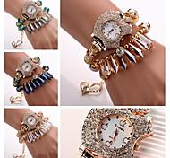 2015 Quartz Watch Women Watches Women Luxury Brand Montre Femme Ladies Wristwatches Gemstone Relogios Feminino Fashions