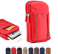 Universal Pick Color Bunk Hanging Bag Waist Mountaineering for iphone4/4S 5/5S  6 5C(Assorted Colors)