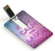 16gb mantenha a calma e rir em unidade flash USB Cartão do projeto ruidosamente