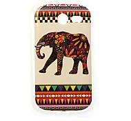 farbenfrohes Elefantmalerei tpu Fall für Samsung-Galaxie-Tasche 2 G110