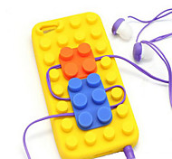 Soft Bricks Back Case Cover for iPhone 5/5S(Assorted Colors)