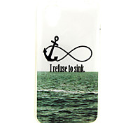 Anchor  Pattern TPU Soft Case for WIKO GOA
