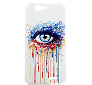 Magic Spider® Colorful Eye Protective Frosted Transparent Back Case with Screen Protector for HUAWEI Ascend G7
