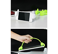 mini stand mobile phone supporto pollice staffa supporto per iPhone / iPad e altri (colori assortiti)