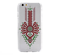 Chinese Knot Pattern Ultrathin TPU Soft Back Cover Case for iPhone 6