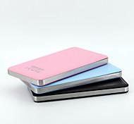 6000mAh Ultra-thin Power Bank for iPhone6/6plus/5/5s Samsung S4/5 and other Mobile Devices