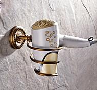 Полка для ванной Античная латунь Крепление на стену 15*10*7cm(5.9*3.9*2.7inch) Медь Античный