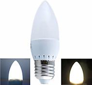 Ding  Yao Lâmpada Vela E26/E27 3 W 100-200 LM 2700-3500/6000-6500 K Branco Quente/Branco Frio SMD 5730 1 pç AC 220-240 V