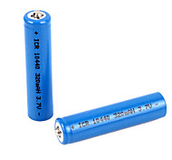 3.7V 320mAh Rechargeable 10440 Lithium Battery (2PCS)