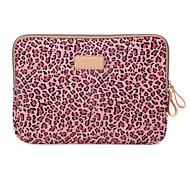 caso estampas de leopardo capa laptop mangas shakeproof para MacBook Air 11 ""
