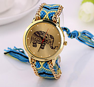 2015  Elephant Friendship Bracelet Watch GENEVA Watch Ladies Quarzt Watches