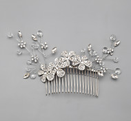Women's/Flower Girl's Rhinestone/Crystal/Alloy/Imitation Pearl Headpiece - Wedding/Special Occasion/Casual Hair Combs/Flowers