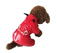 Rojo - A Prueba de Agua - Algodón - Impermeable - Perros -