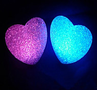 Multicolor Loving Heart Pattern Night Light