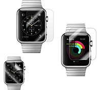 2 PCS 38 MM Diamond Shining Screen Protector with Anti-Bubble & Anti-Fingerprint for Apple Watch (0.3 mm)