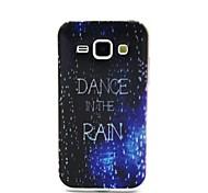 design de mode Coco Fun® marche dans le motif de pluie IMD étui souple TPU pour Samsung Galaxy J1