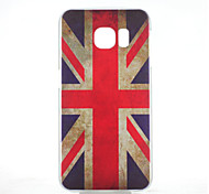 British Flag Pattern PC Hard Case for Samsung Galaxy S6 edge